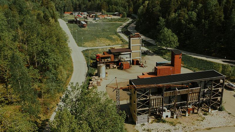 Övningsområdet - norr