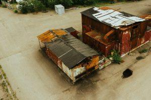 Strålförare containern